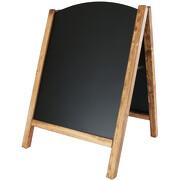 Kreidetafel Kundenstopper GREENA Metall magnetisch für Außen 59x78 cm