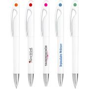 Kugelschreiber AYA mit Druck Logo Fotodruck 4-farbig mit Gestaltung