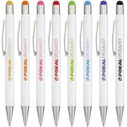 Kugelschreiber BIANCO Touchpen Metall mit Logo Namen Gravur