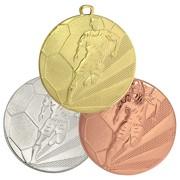 Medaille Fußball AIK aus Stahl schwer 50 x 3 mm gold silber bronze