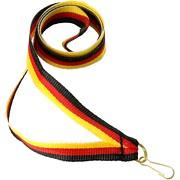 Medaillenband 11mm schmal Band in 26 Farben mit Aufhänger für Medaille