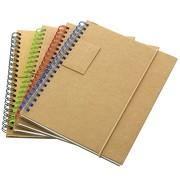 Notizbuch Garden Notizblock Stifthalter Hardcover mit Druck 1-farbig