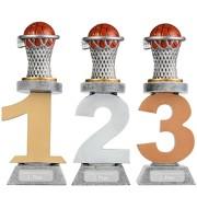 Pokal Basketball Serie VILLON Trophäe 3 Größen mit Gravur