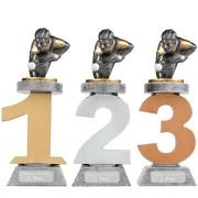 Pokal Billard Poolbillard Snooker Serie VILLON Trophäe 3 Größen mit Gravur