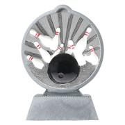 Pokal Bowling mit 3D Motiv Serie Ronny 10,5 cm hoch
