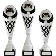 Pokal Esports E-Sport Gamer Serie VERDUN Trophäe silber groß mit Gravur