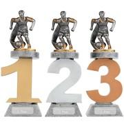 Pokal Fußball Serie VILLON Trophäe 3 Größen mit Gravur