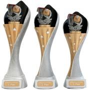 Pokal Handball Serie AUXON Trophäe 3 Größen mit Gravur