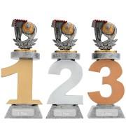 Pokal Handball Serie VILLON Trophäe 3 Größen mit Gravur