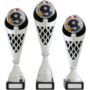 Pokal Handball Wasserball Serie VERDUN Trophäe silber groß mit Gravur