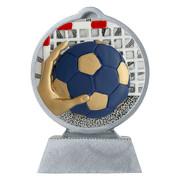 Pokal mit 3D Motiv Handball Wasserball Serie Ronny 10,5 cm hoch