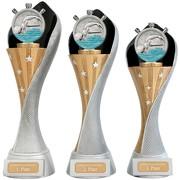 Pokal Schwimmen Schwimmsport Serie AUXON Trophäe 3 Größen mit Gravur