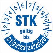 Prüfetiketten STK Prüfung Medizintechnik 2021-2026 Prüfplaketten