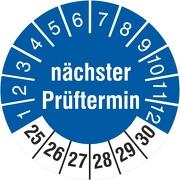 Prüfplakette nächster Prüftermin 2021-2026 Prüfetiketten