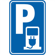 Schild Hinweisschild Tankstelle Elektrofahrzeuge Parkplatz 3mm Alu