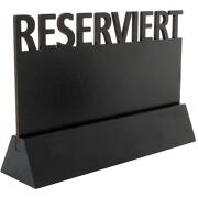 Schild Reserviert SOLO mit Kreidetafel zum beschriften Reservierung