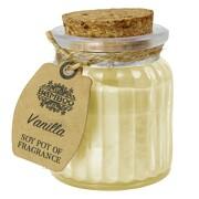 Soja Vanille Kerze Duftkerze Licht im Glas Sojawachs