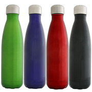 Trinkflasche Vejlby Flasche aus Edelstahl doppelwandig mit Gravur Namen