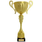 Wanderpokal LAVAL Pokal Trophäe gold 37 cm hoch auch mit Gravur