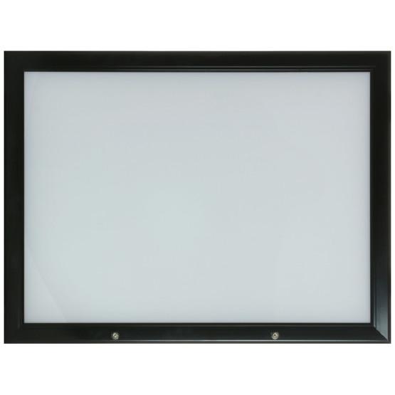Menükasten GENUA außen Schaukasten Outdoor Schwarz auch mit LED
