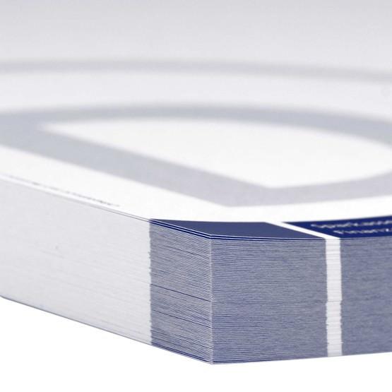 Briefbögen A4 1-farbig nach HKS einseitig bedruckt von Ihrer Datei