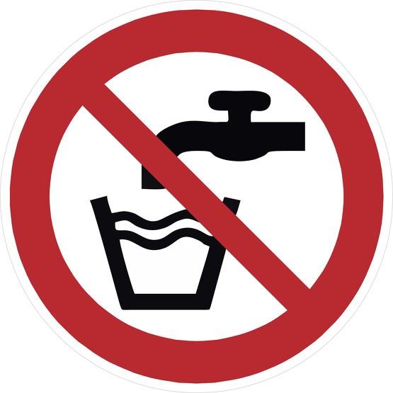 Schild Kein Trinkwasser P005