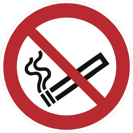 Aufkleber Rauchen verboten P002