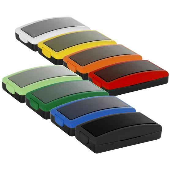 Stempel PBOX 31Stempelautomat 49 x 19 mm bis 4 Zeilen selbstfärbend Wagraf in 8 Farben