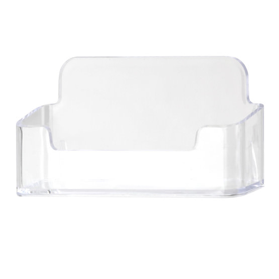 Visitenkartenständer Visitenkartenhalter Visitenkartenaufsteller aus glasklarem Acryl