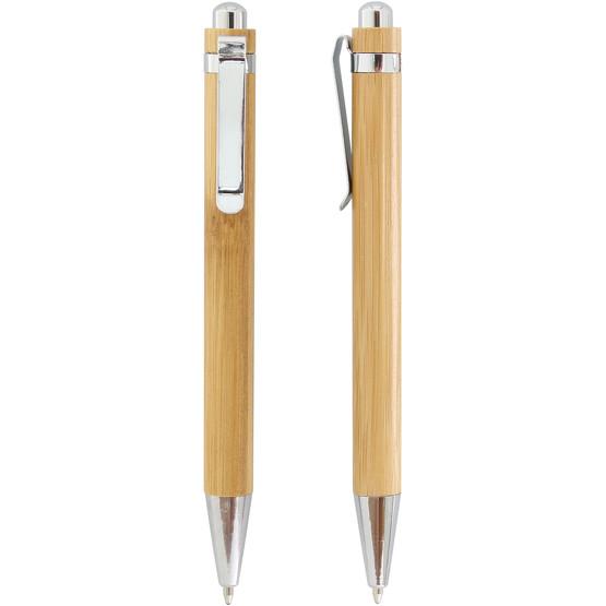 Bambus Kugelschreiber SUMATRA mit einfarbigem Druck