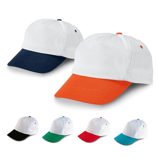 Basecap Cap SHAY 6 Farben Kappe bestickt mit Ihrem Motiv Logo