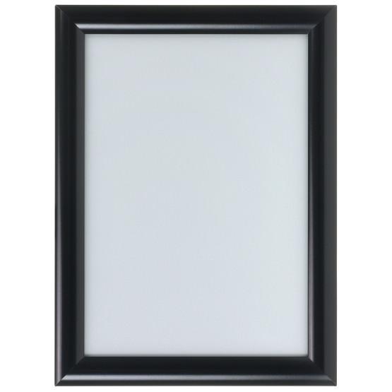 Klapprahmen schwarz auf Gehrung A4 A3 A2 A1 Snap Frame 25mm Plakatrahmen Posterrahmen