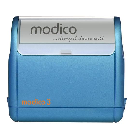 Stempel Modico M3 3 Zeilen