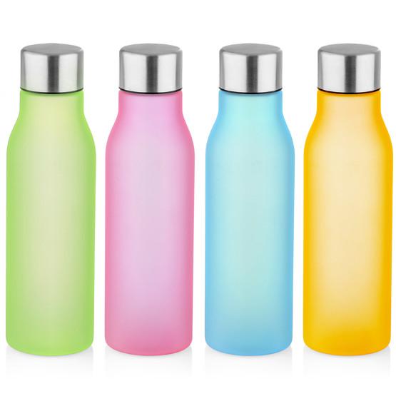Flasche BRIN Wasserflasche 600 ml mit Gravur Text Name Logo