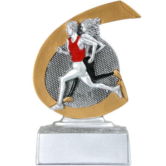 Laufen Pokal ARLES Trophäe Preis 10 cm hoch Minipokal