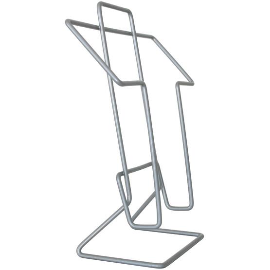 Prospekthalter Tisch FILO A4 Metall Aufsteller Ständer für Prospekte