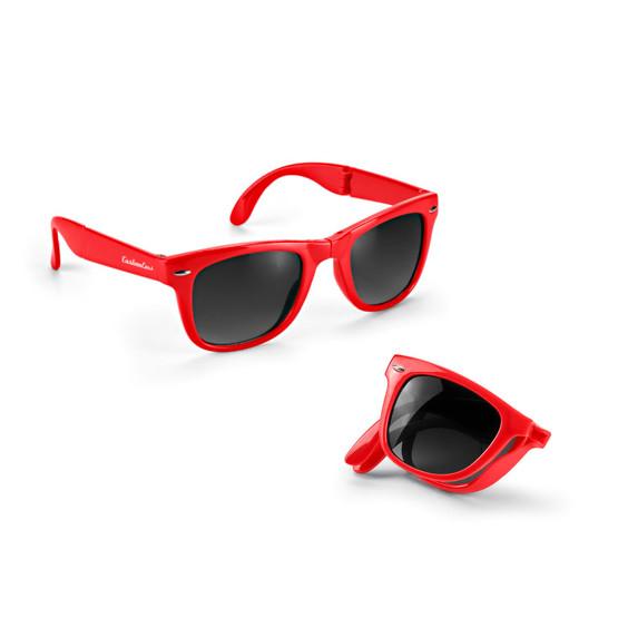 Sonnenbrillen Liva faltbar mit Druck Werbung Logo bedrucken