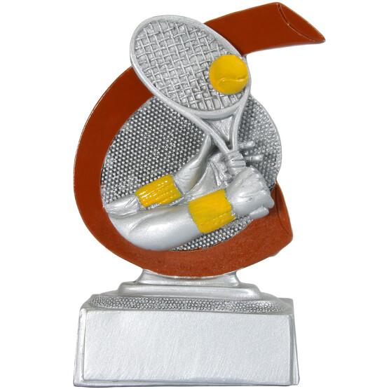Tennis Pokal ARLES Trophäe Preis 10 cm hoch günstig Minipokal