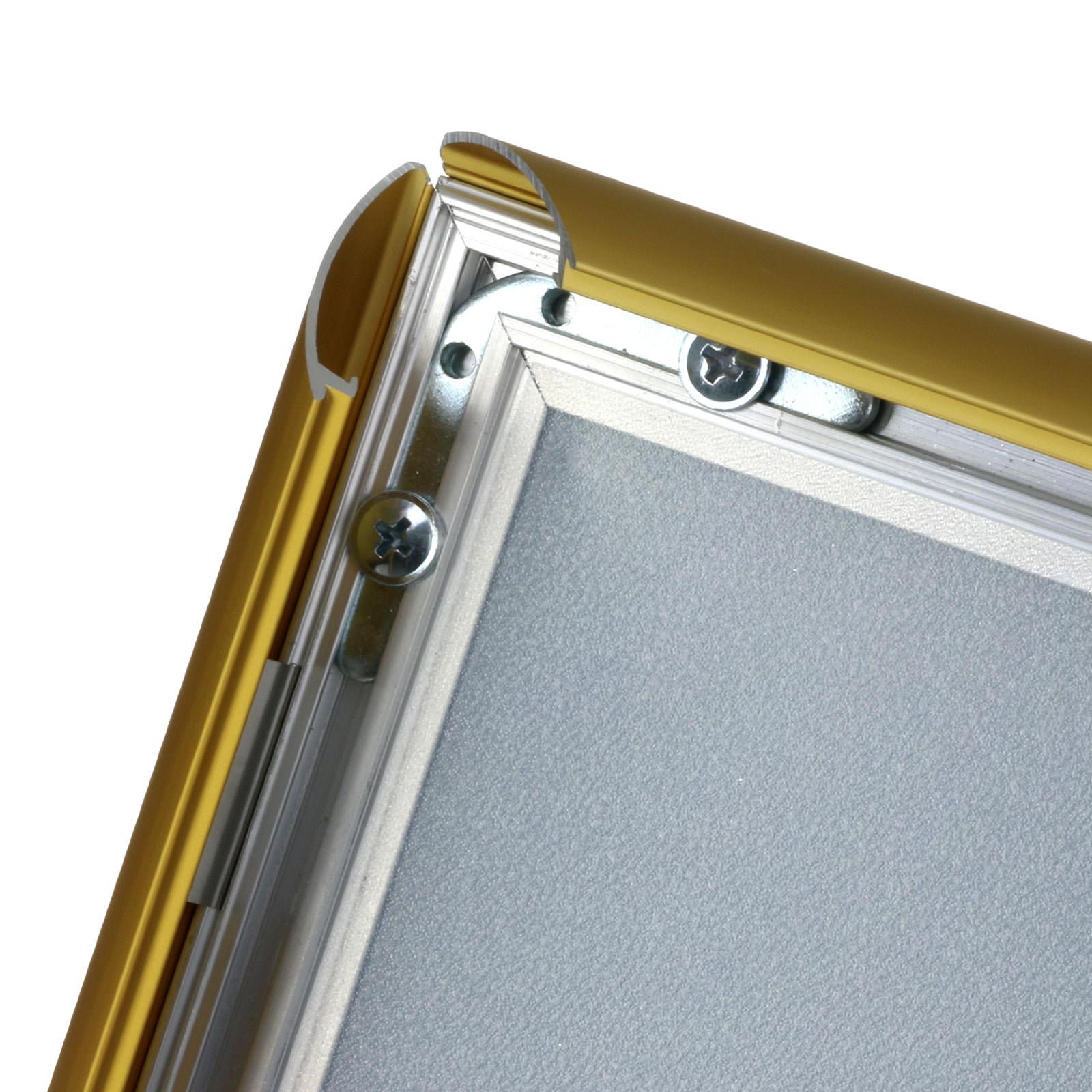 Klapprahmen gold A4 A3 A2 A1 Plakatrahmen 25 mm Posterrahmen