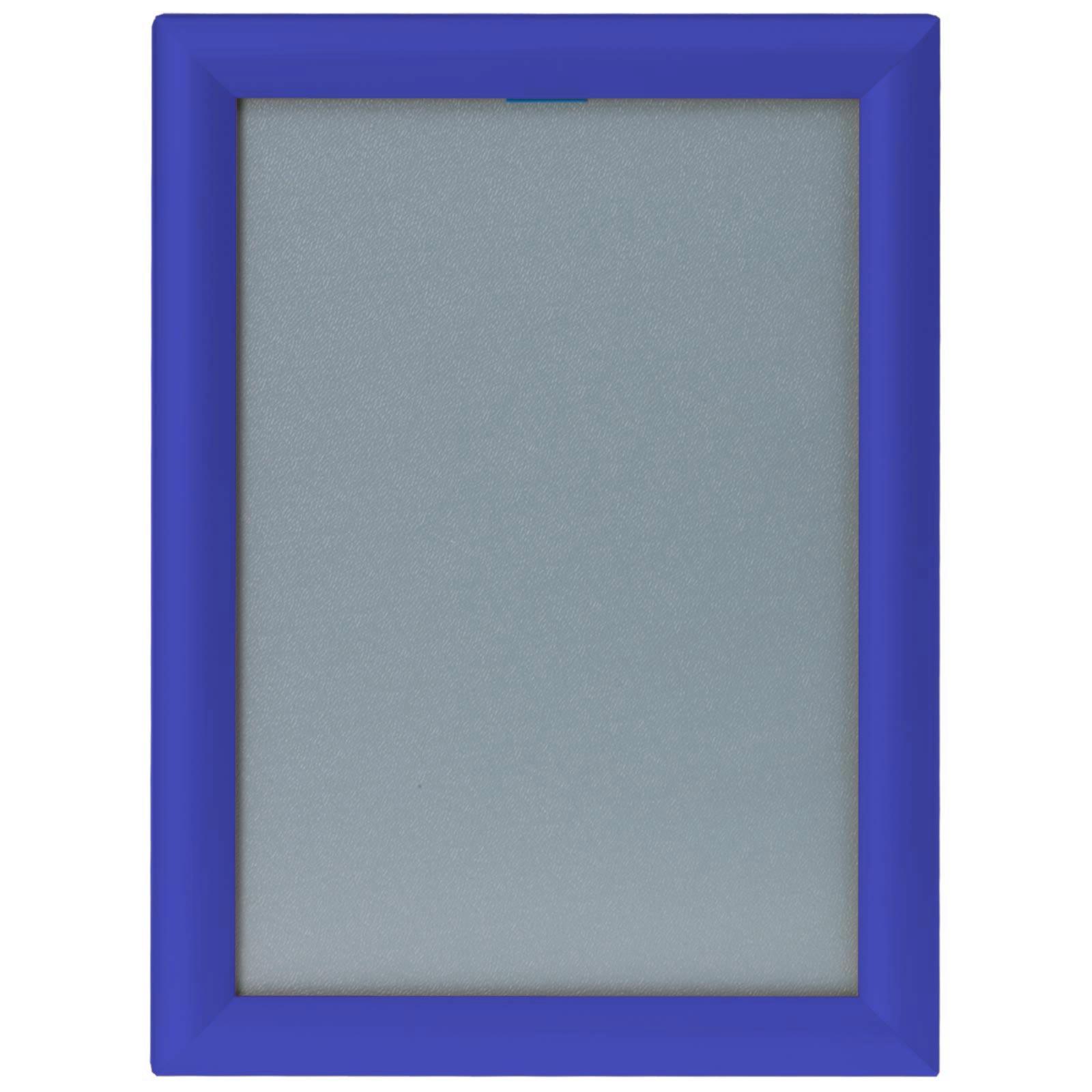 klapprahmen blau auf gehrung a4 a3 a2 a1 25mm plakatrahmen posterrahmen