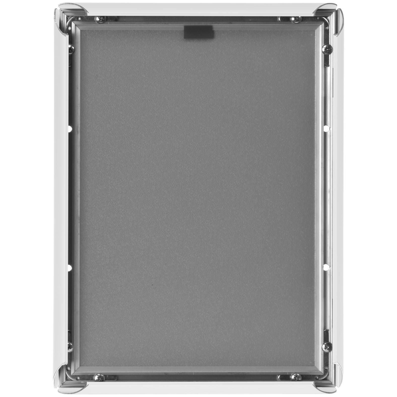 klapprahmen wei auf gehrung a4 a3 a2 a1 snap frame 25mm. Black Bedroom Furniture Sets. Home Design Ideas