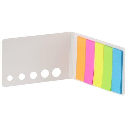 Klebezettel Haftnotizen Memosticks als Block mit Druck Werbung 1-farbig