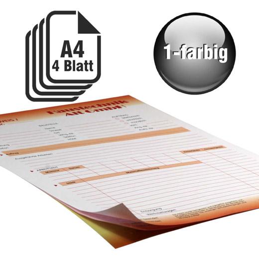 Durchschreibesätze 1-farbig A4 3-fach durchschreibend