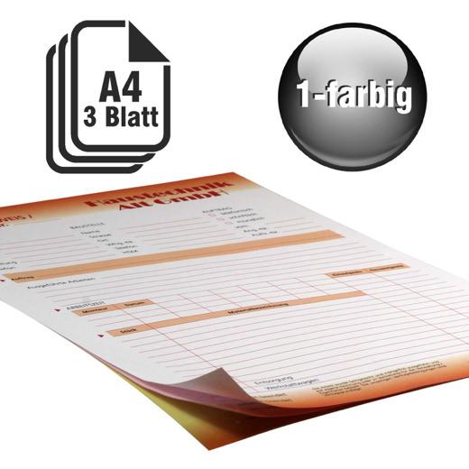 Durchschreibesätze 1-farbig A4 2-fach durchschreibend
