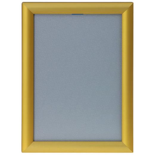 Klapprahmen gold auf Gehrung A4 A3 A2 A1 Snap Frame 25mm Plakatrahmen Posterrahmen