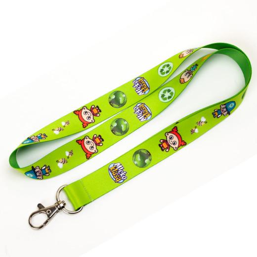 Schlüsselband / Lanyard mit Druck 4-farbig, Fotodruck