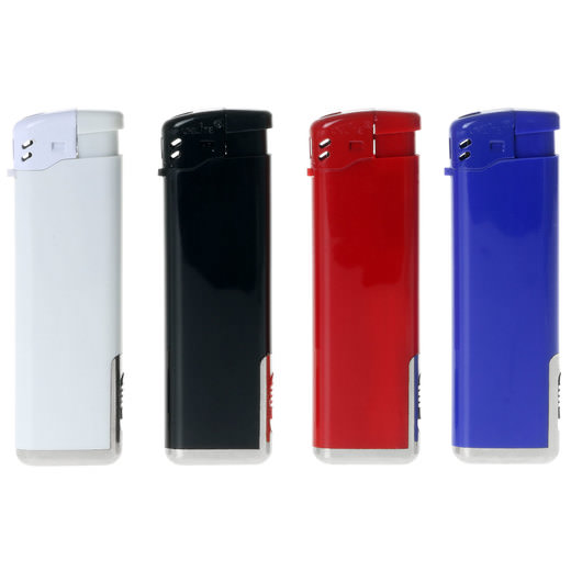 LED Piezo Feuerzeug Barbados mit individuellem Druck Werbung Logo 1-farbig