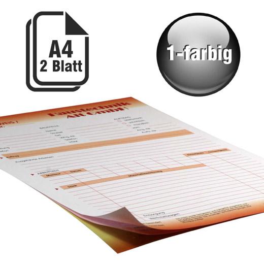Durchschreibesätze 1-farbig A4 1-fach durchschreibend