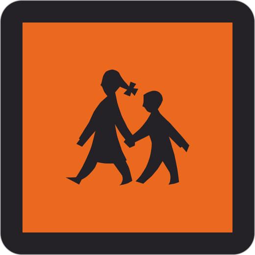 Schulbusschild als Magnetschild Magnettafel Schild oder Aufkleber