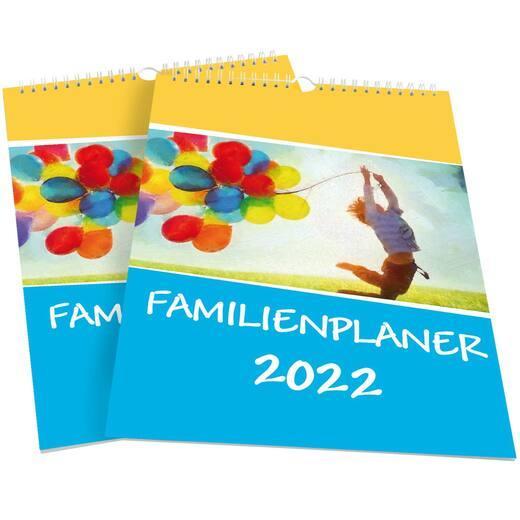 Familienplaner 2022 Familienkalender mit 6 Spalten gut beschreibbar